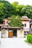Wejście monaster StSt Constantine i Helena blisko Varna, Obrazy Stock