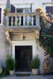 Wejście muzeum w Herceg Novi Obrazy Royalty Free