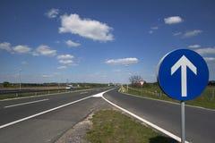 Wejście na autostradzie Obrazy Royalty Free