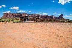 Wejście Pomnikowa dolina, Utah, usa Zdjęcia Stock