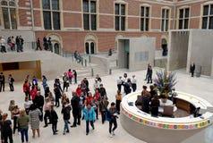 Wejście Rijksmuseum Zdjęcie Royalty Free