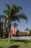 Wejście Royal Palace w Marrakesh, Maroko Zdjęcie Royalty Free