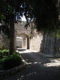 Wejście Saint Paul De Vence blisko cmentarza, Fotografia Royalty Free