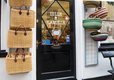 Wejście sklep Zdjęcia Royalty Free