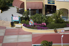 Wejście St. Maarten zakupy Obraz Stock