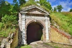 Wejście stary forteca Zdjęcia Royalty Free