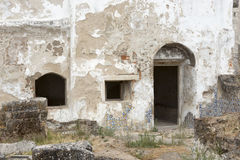 Wejście stary ruine od Moura kasztelu Fotografia Royalty Free