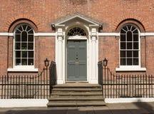 Wejście stylu dom Obrazy Royalty Free