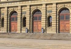 Wejście Szwajcarski Federacyjny instytut technologii w Zurich Fotografia Royalty Free