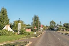 Wejście Trompsburg Zdjęcie Royalty Free