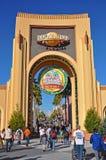 Wejście Universal Studios Orlando, Floryda, usa obraz stock