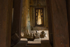 Wejście w Angkor Wat Obrazy Royalty Free