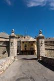Wejście w Briancon, Francja Obraz Royalty Free