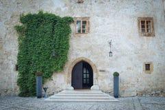 Wejście w hotelu w Slovenia Obrazy Stock