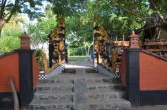 Wejście willa Bulan Madu i zdrój Obrazy Stock