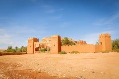 Wejściowa brama forteca Ait Ben Haddou Obrazy Royalty Free