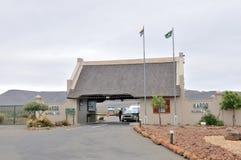 Wejściowa brama Karoo park narodowy Obrazy Royalty Free