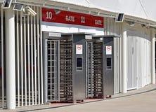 Wejściowa brama stadium Obrazy Stock