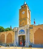 Wejściowa brama Vank katedra w Isfahan, Iran Zdjęcia Royalty Free