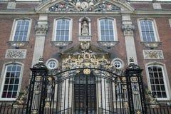 Wejściowa brama Worcester, ratusz, Anglia Obrazy Stock