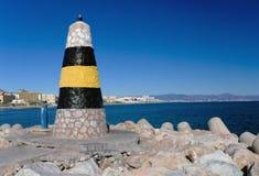 wejściowy benalmadena schronienie Spain Zdjęcie Royalty Free