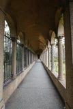 wejściowy dc monaster franciscan uprawia ogródek monaster Zdjęcia Stock