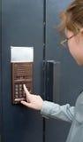 wejściowy drzwi awiofon Obrazy Stock