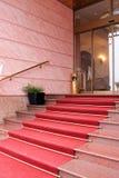 wejściowy hotel Zdjęcia Royalty Free