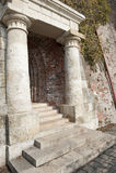 wejściowy kamienisty Zdjęcie Stock