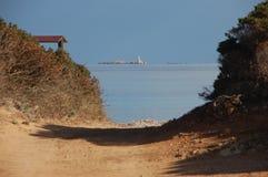wejściowy morze Zdjęcie Royalty Free