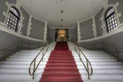 wejściowy uroczysty schody Fotografia Stock