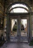 Wejście zaniechany dziki zachodni hotel Fotografia Royalty Free