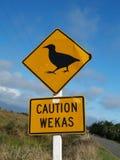 weka знака предосторежения Стоковые Изображения RF