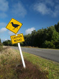 Weka caution sign Stock Image