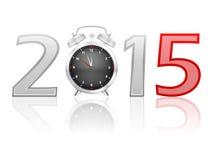 Wekker 2015 Stock Fotografie