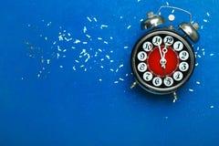 Wekker, 12 uren Royalty-vrije Stock Afbeelding