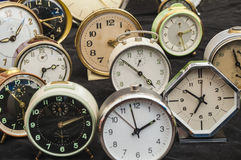 Wekkers Stock Foto's