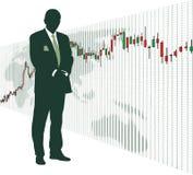 wekslowego rynku zapas Ilustracja Wektor