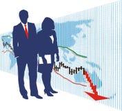 wekslowego rynku zapasu świat Ilustracji