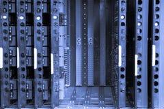 wekslowego systemu telefon zdjęcia stock