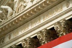 wekslowy nowy akcyjny York Obraz Stock