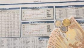 Wekslowy pieniądze Zdjęcia Stock