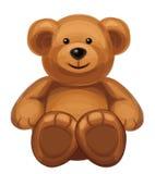 Wektor śliczny niedźwiedź. Obrazy Royalty Free