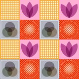Wektor Abstrakcjonistyczny kolorowy Bezszwowy Deseniowy tło Zdjęcie Royalty Free