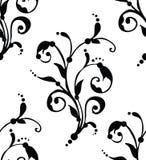 Wektor - Bezszwowy kwiecisty wzór Obrazy Royalty Free