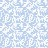 wektor bezszwowy wzoru Abstrakcjonistyczny tło z szczotkarskimi uderzeniami Zdjęcia Stock