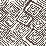 wektor bezszwowy wzoru Czarny i biały abstrakcjonistyczny tło Obrazy Royalty Free