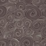 wektor bezszwowy wzoru Czarny i biały abstrakcjonistyczny tło Zdjęcie Stock