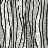 wektor bezszwowy wzoru Diagonalni nieregularni kształty Obrazy Royalty Free