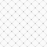wektor bezszwowy wzoru Geometryczny tło z kropkowanym rhombu Fotografia Royalty Free